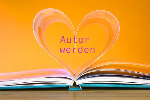 Autor werden Herz Buch